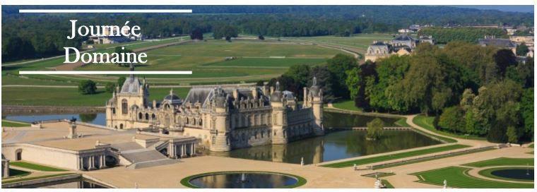 Visite du Chateau de Chantilly vendredi 10 mai 2019,  programme détaillé et bulletin d'inscription à remplir avant jeudi 18 avril