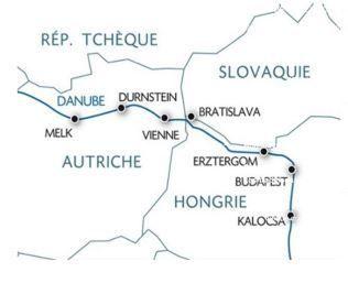 Croisière sur le Danube en mai 2020, programme