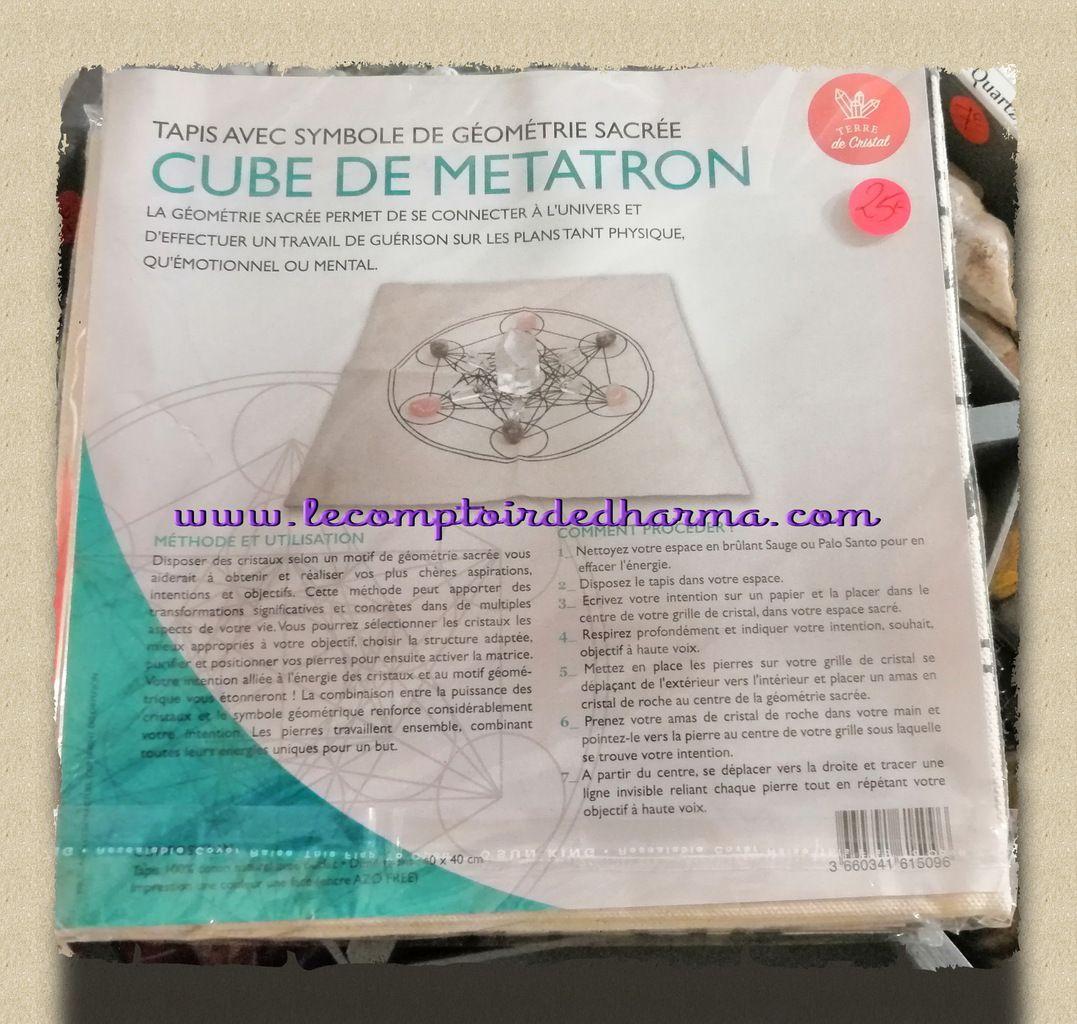 tapis cube de Métatron