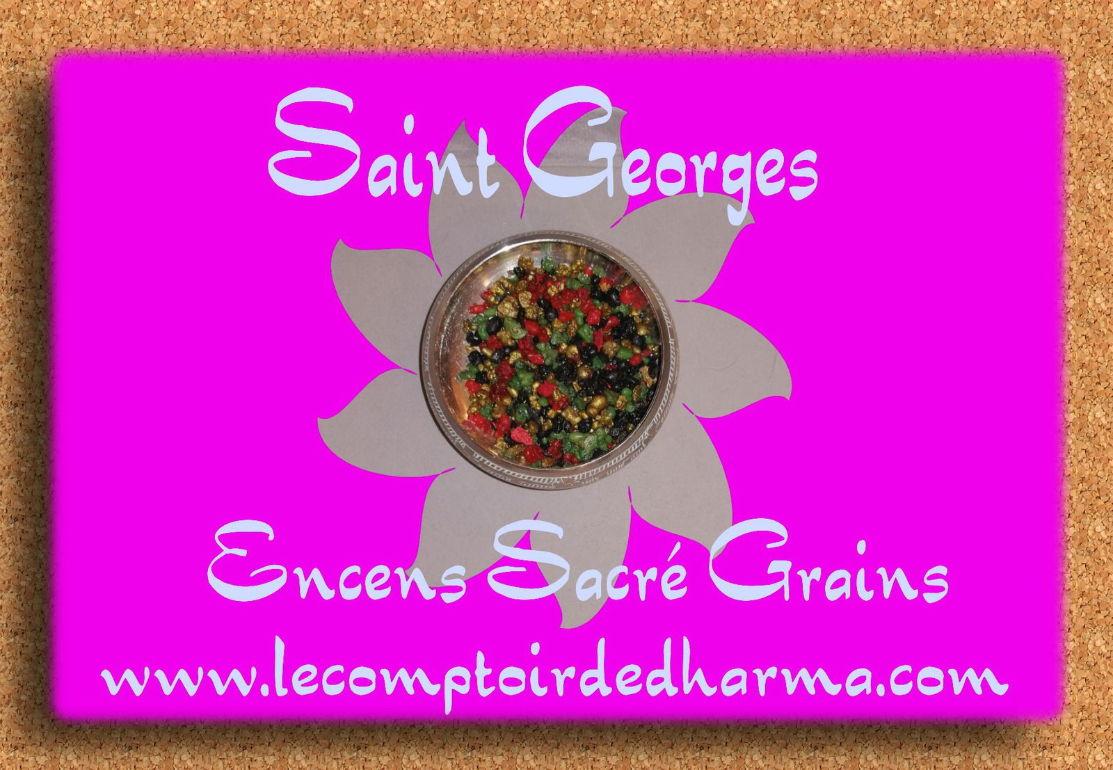 Saint Georges Encens Sacré grains