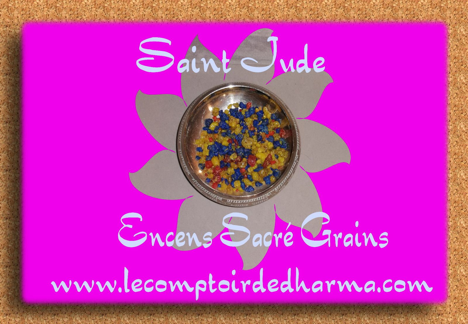 Saint Jude Encens Sacré grains