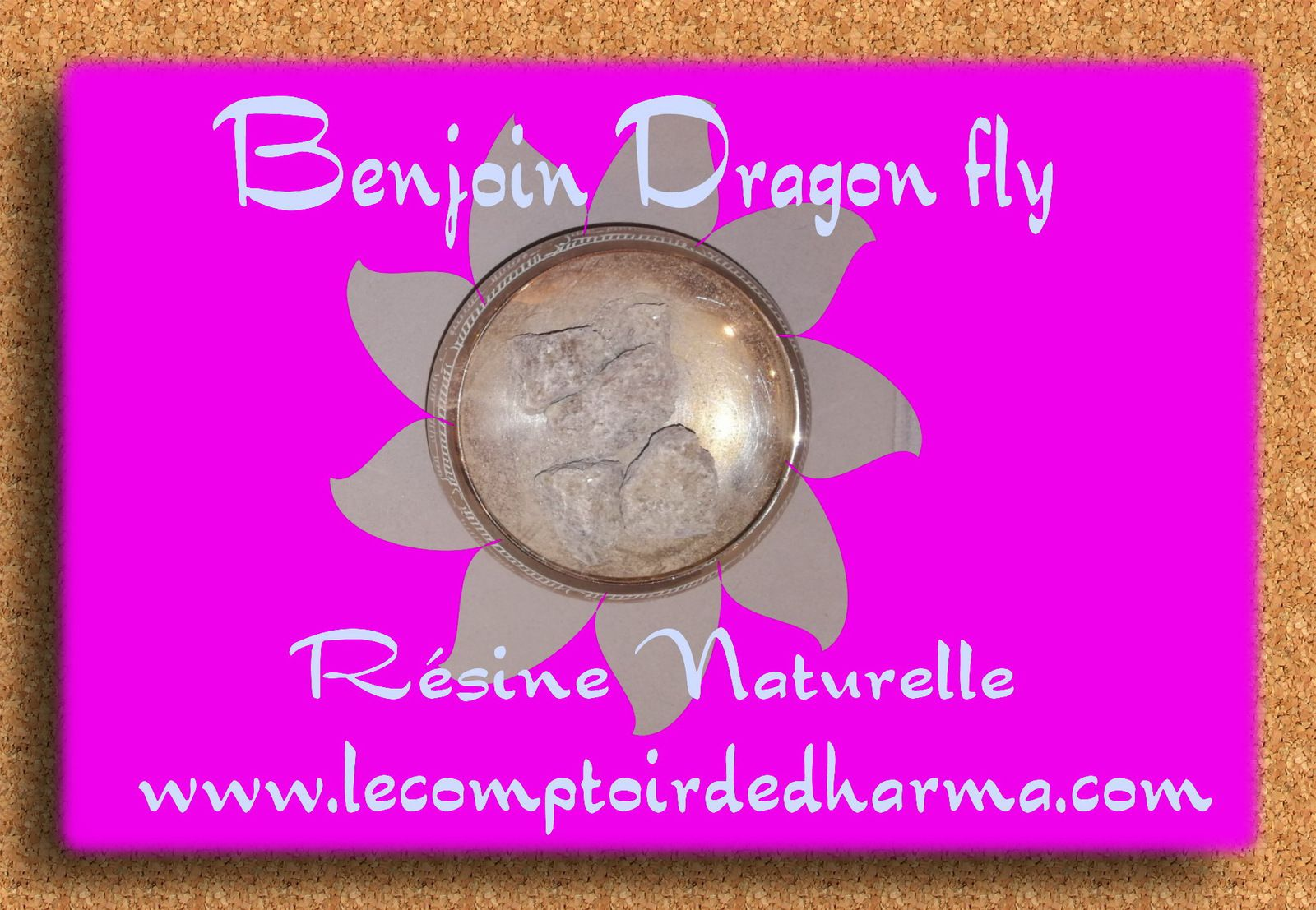 Benjoin Dragon Fly Résine Naturelle encens