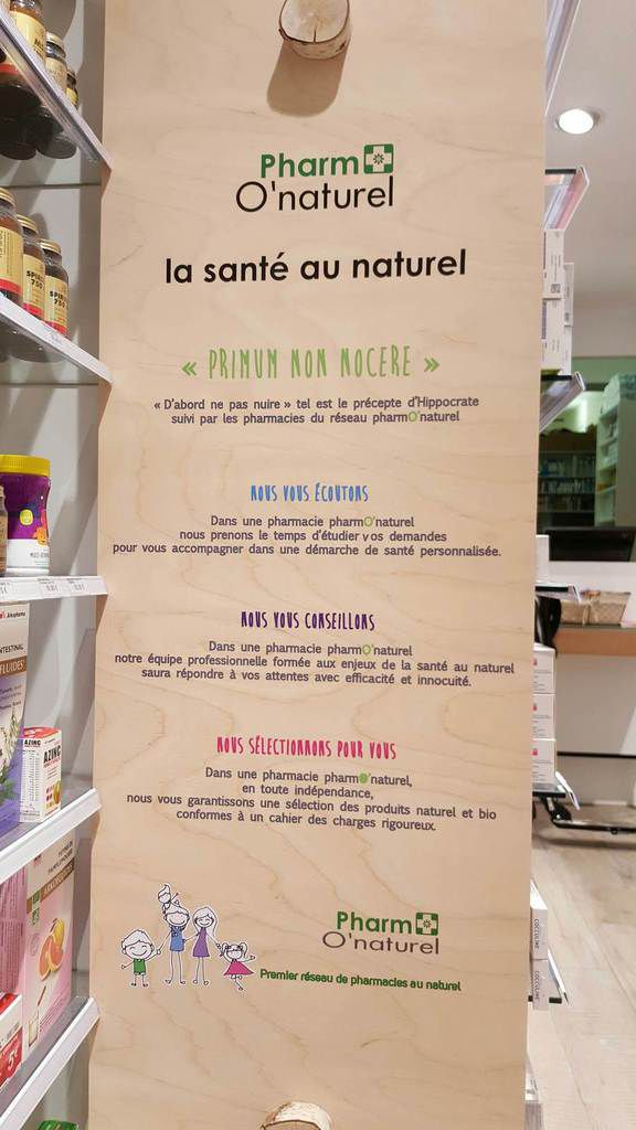 PHARM O'NATUREL, UN NOUVEAU CONCEPT DE PHARMACIES