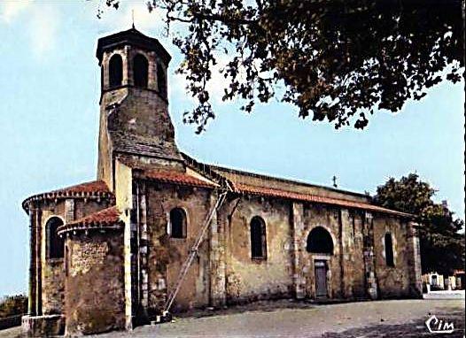 L'échelle métallique de l'église