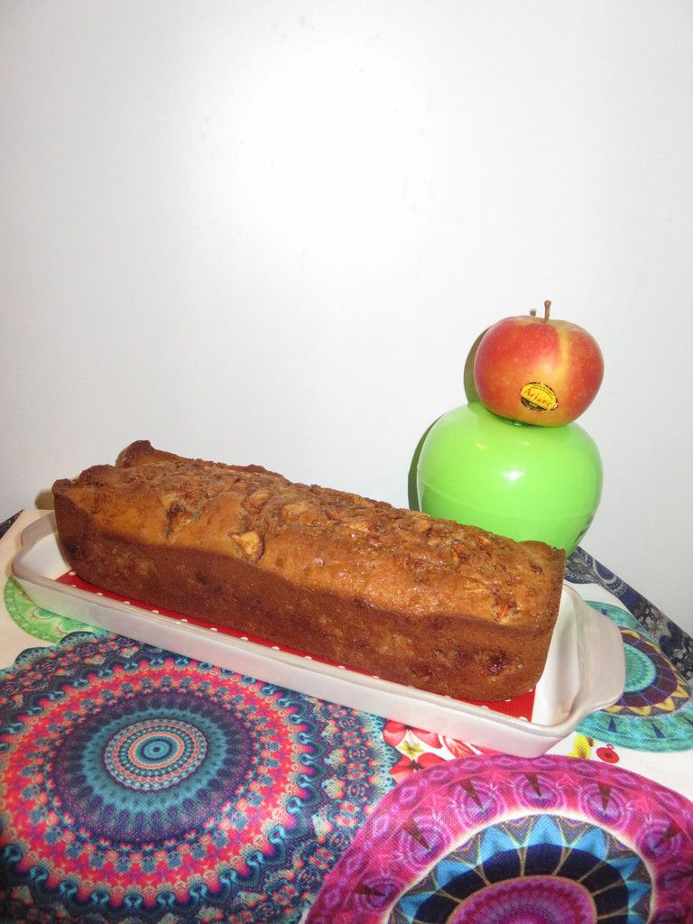 Mon Apple fritter bread à moi