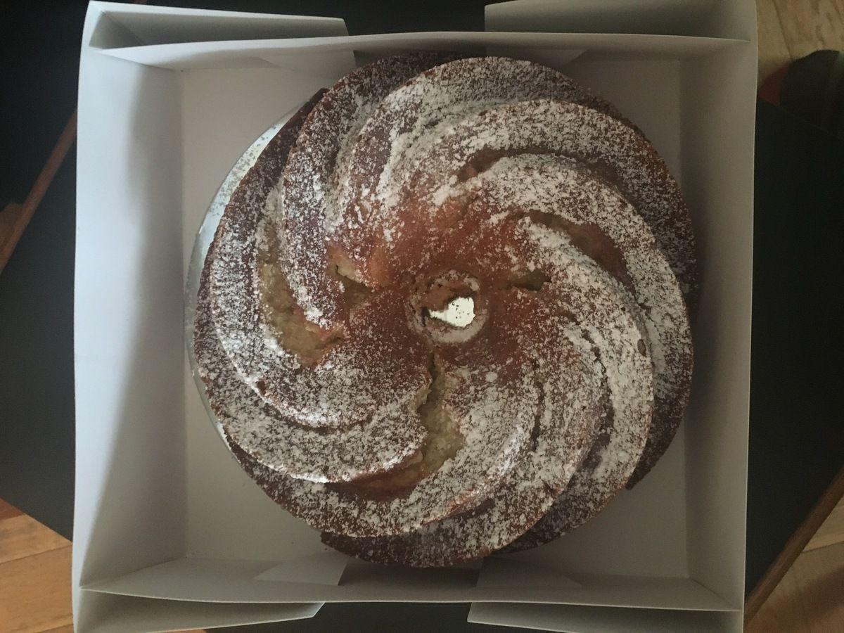 Mon bundt cake poivre citron gingembre