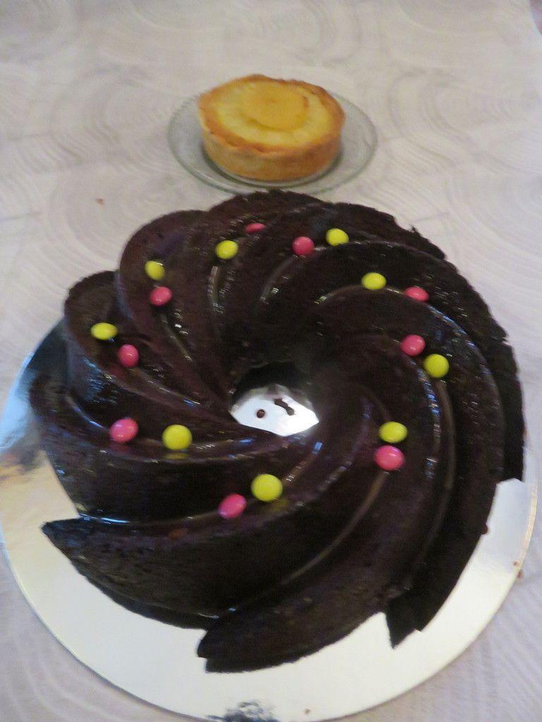 Mon bundt cake chocolat caramel