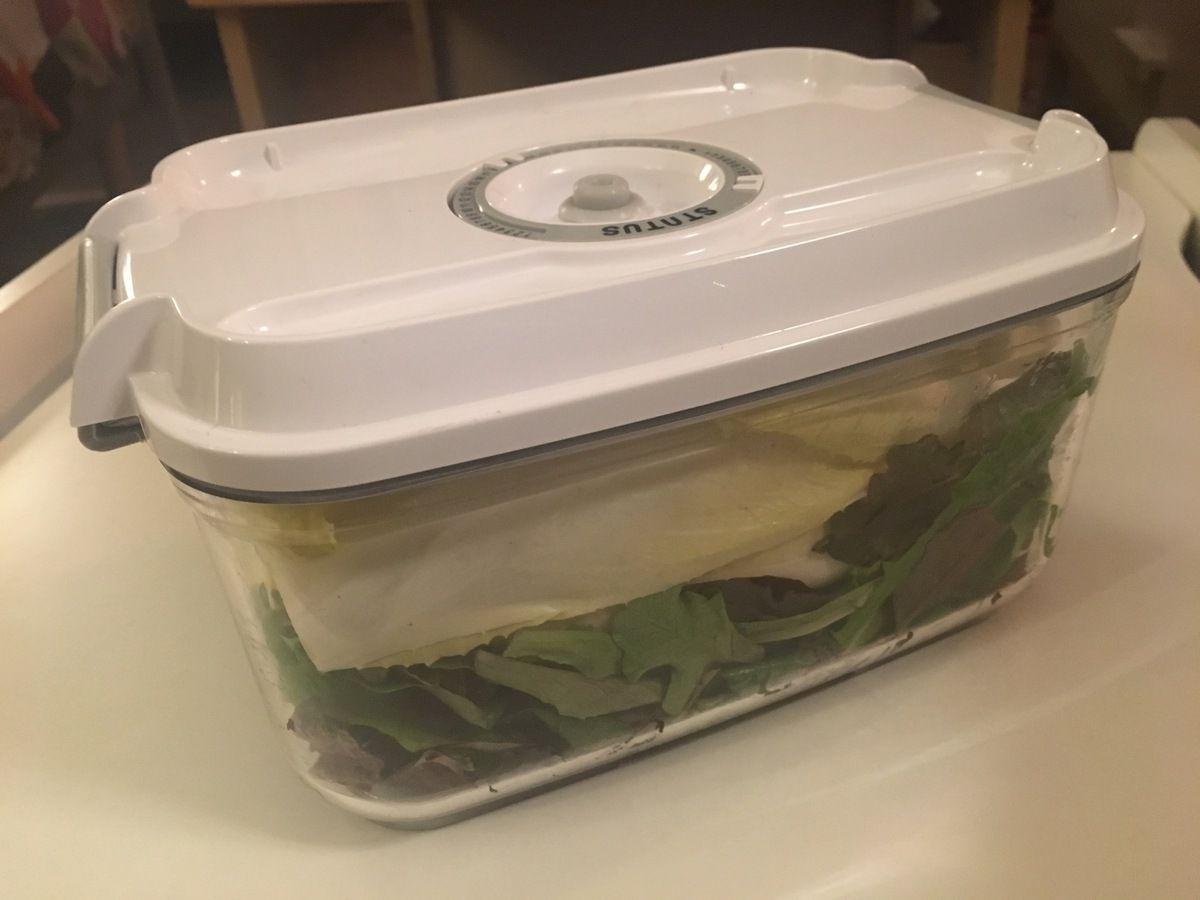 Ma solution pour une salade croquante