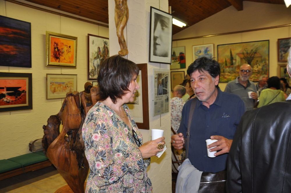 Vernissage expo Sophie FAYARD