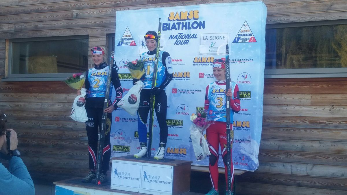 Biathlon: les girls du GUC au top