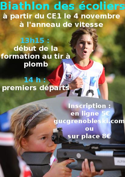 Premier Biathlon des écoliers de Grenoble