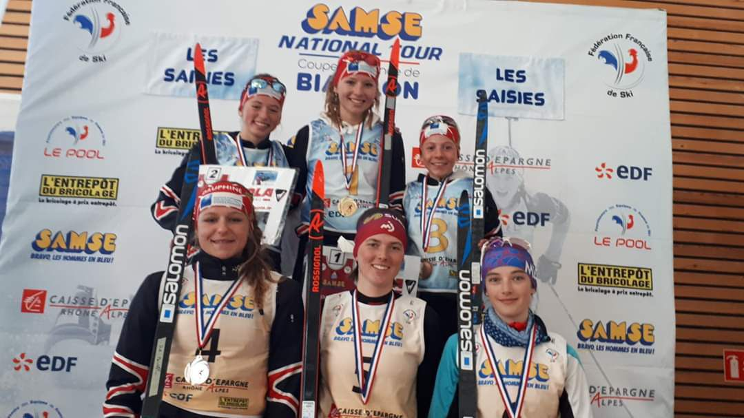 Résultats Coupe de France Biathlon