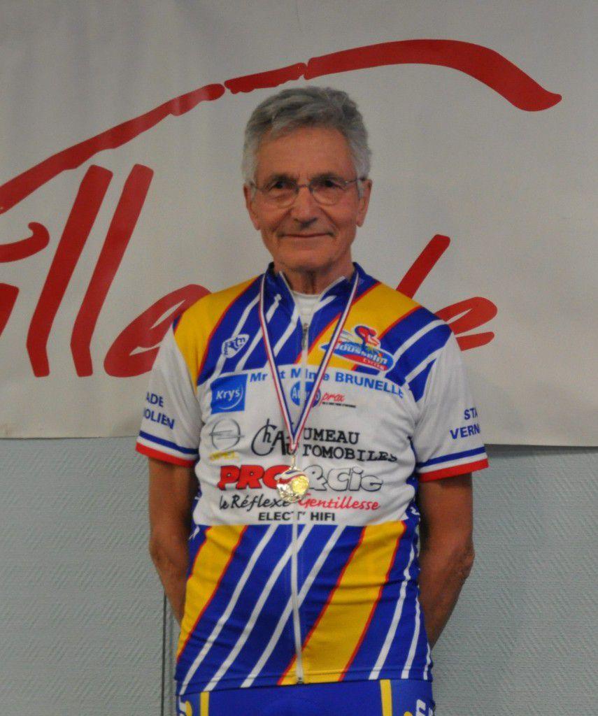 Pierre Tuny vice champion de France VTT des élus à Vittel