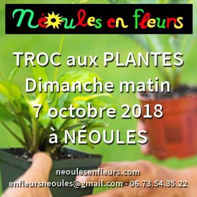 Local Var : Troc aux plantes, mais pas que !... - Néoules - Dimanche 7 octobre 2018