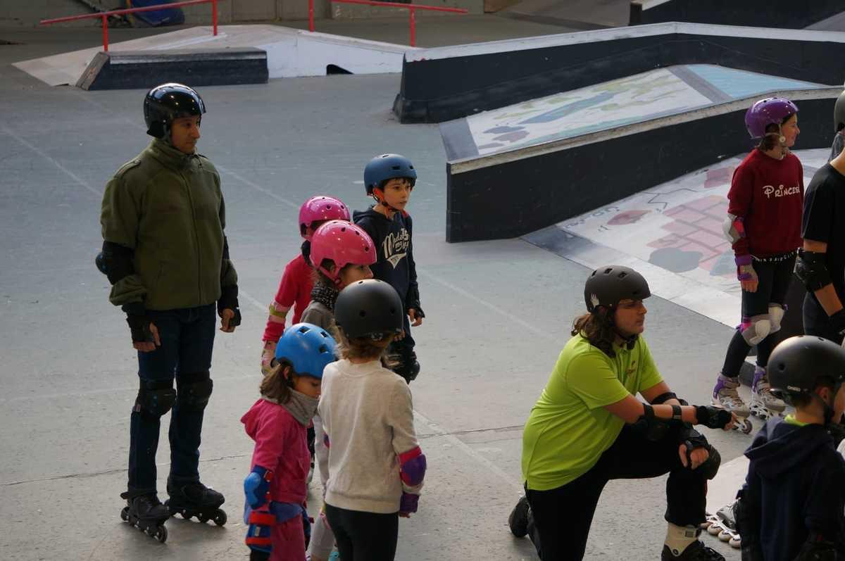 Dimanche 18 novembre le premier skatepark de l'année !