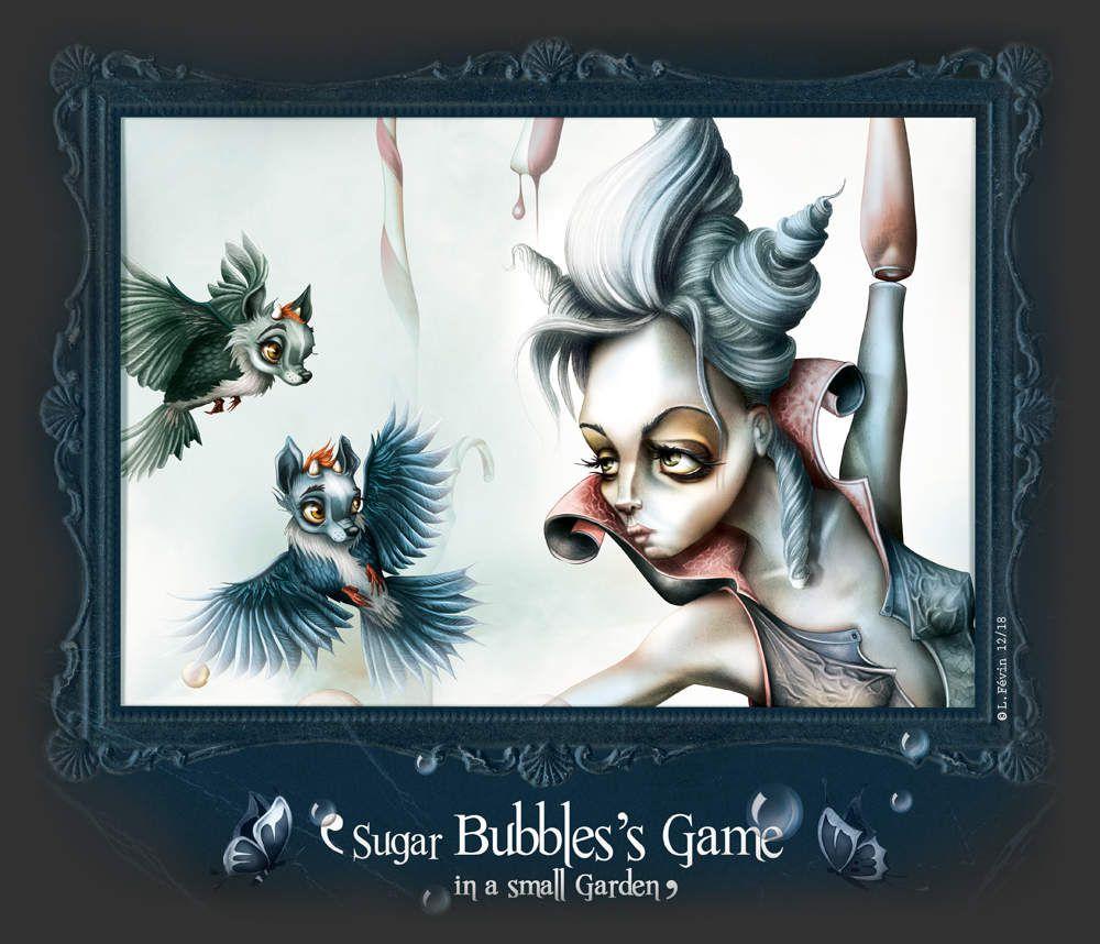 Sugar Bubbles's Game in a small garden