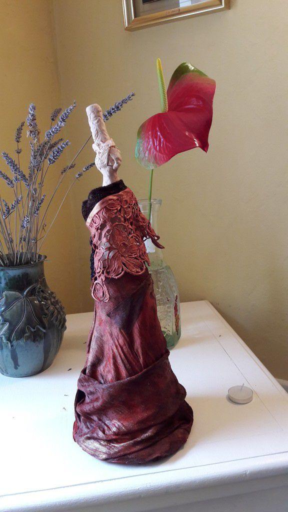 Sculpture arlette legouic Bigoudènes émancipées  Les Déguisées