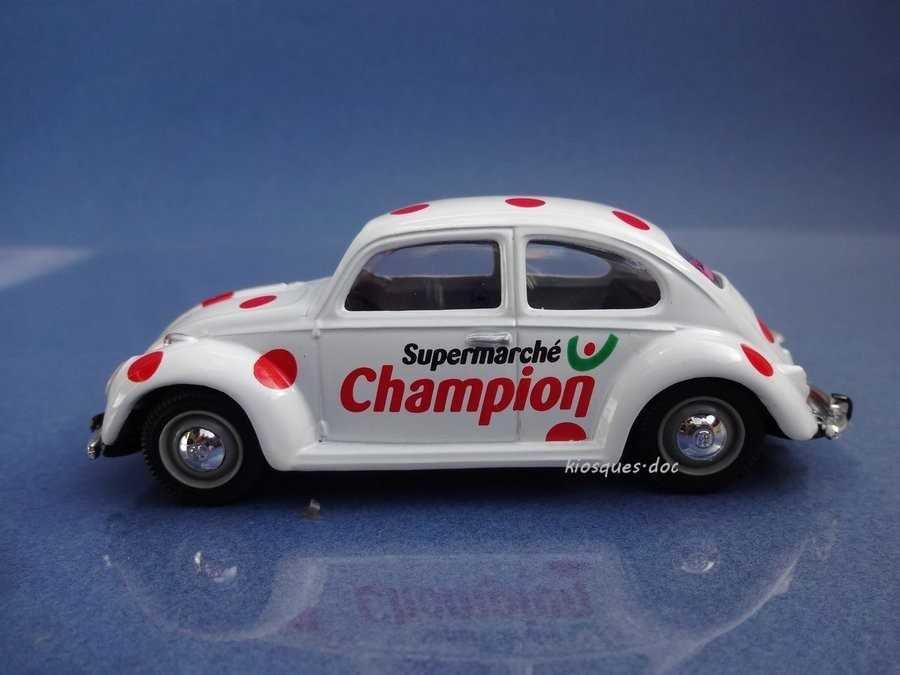 volkswagen VW coccinelle champion  tour de france 2001 1//43 NOREV