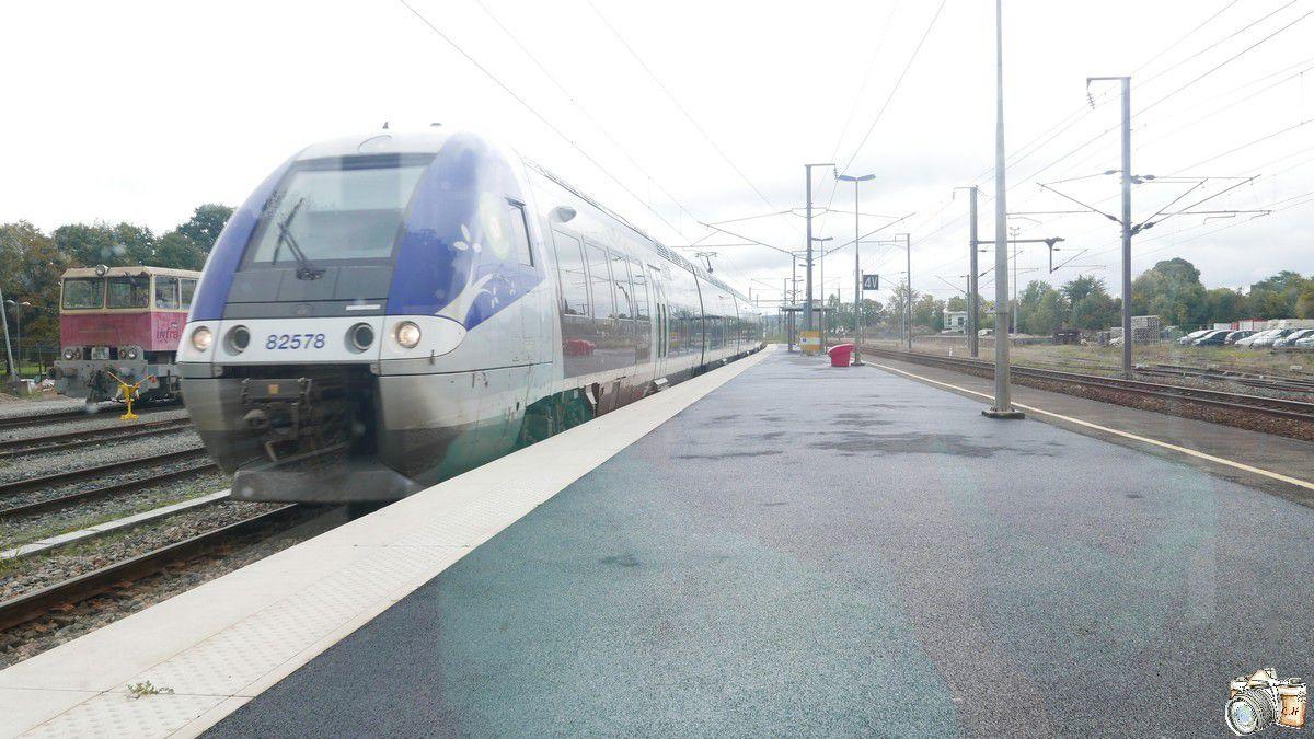 La SNCF entre le TGV le Ter et moi..
