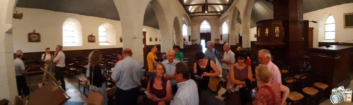 Découvrir l'Eglise Saint Abdon et Saint Sennen avec le Département