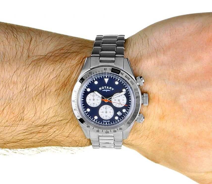 Revue de la montre Rotary Chronographe « Vintage » GB00600/05
