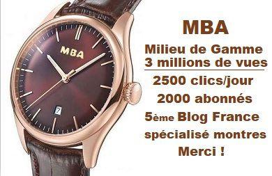 Liste noire des fabricants de montres - Montres Bonnes Affaires