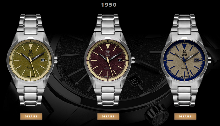 Lonis Watches 1950