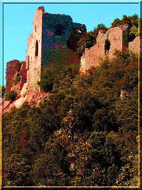 Diaporama château d'ALLEGRE à Allègre-les-Fumades