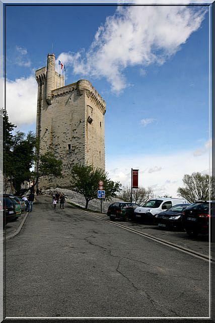 La puissance Royale s'exprime dans cette tour médiévale