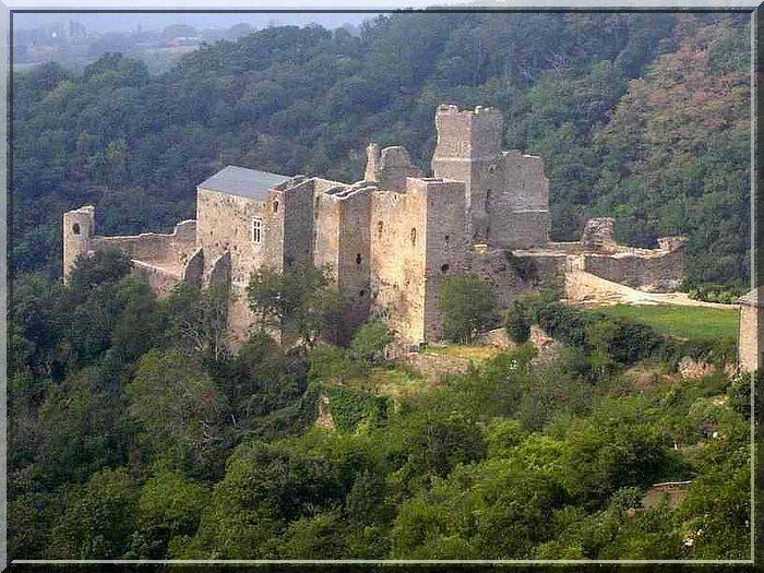 Diaporama château de SAISSAC