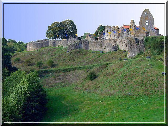 Diaporama du château de TIFFAUGES