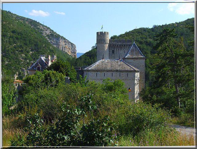 Diaporama château d'AULAN