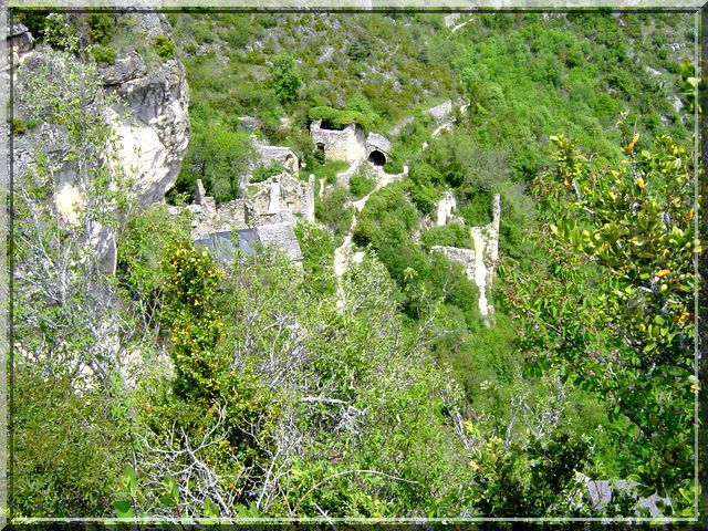 Diaporama château CAPLUC - Le Rozier