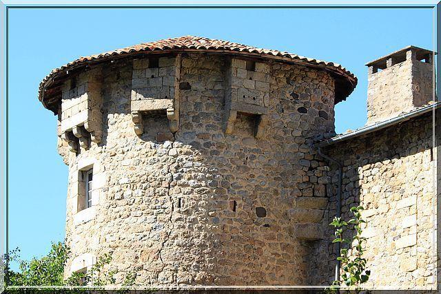 Diaporama château de LA MOTTE à Accons