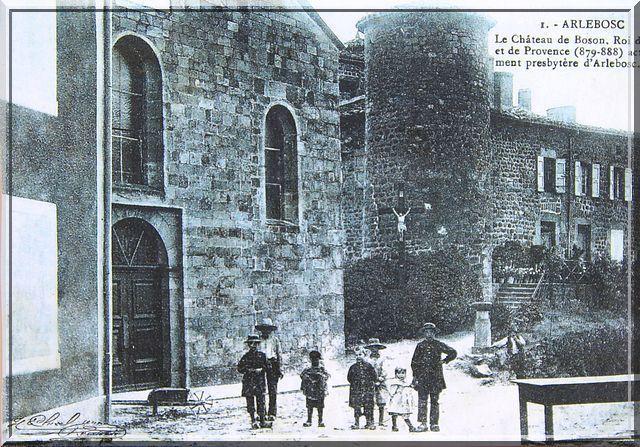 Diaporama château d'Arlebosc