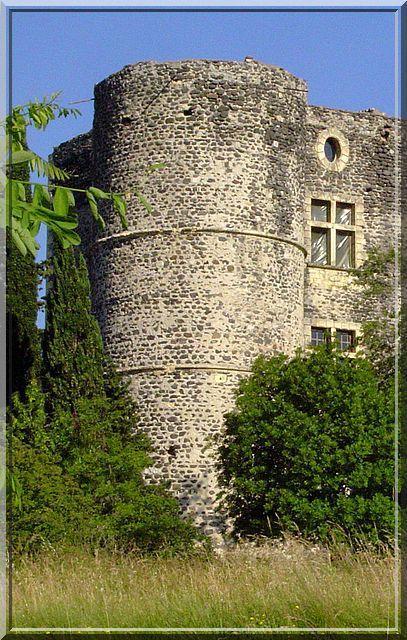 Diaporama château Alba la Romaine