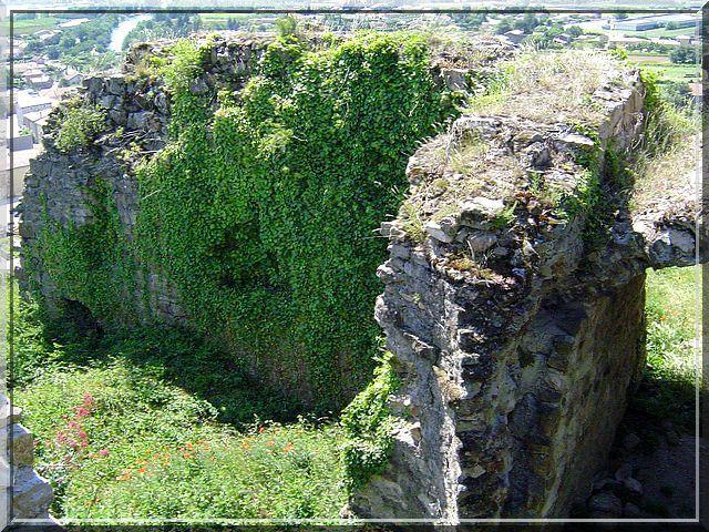 Diaporama château de Charmes sur Rhône