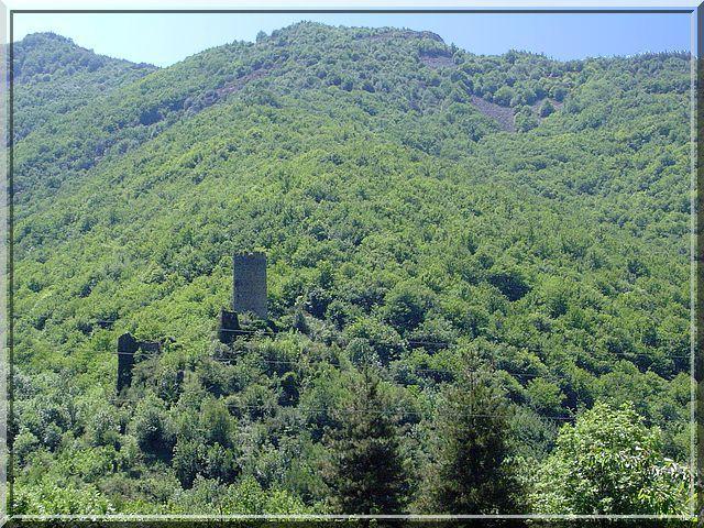 Diaporama château de CHADENAC à Barnas