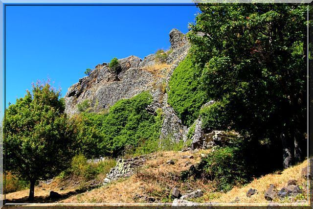 Diaporama château de Brion à Jaunac