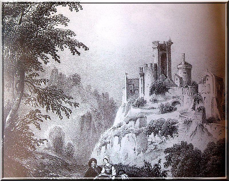 Pensez vous que le château soit encore ainsi ?