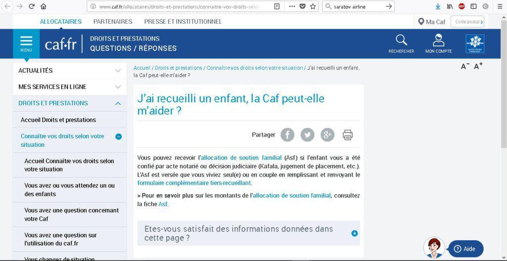 Estimation Droit La Caf
