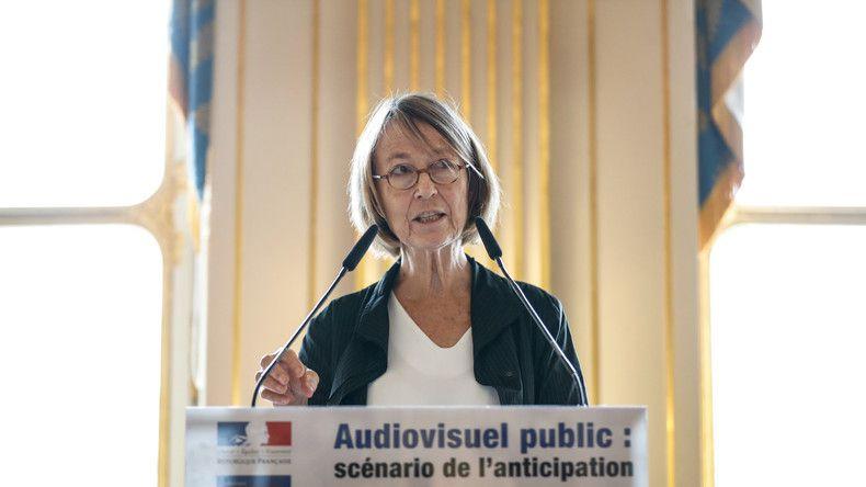 Contre une France «hautement réactionnaire», Françoise Nyssen propose des médias publics «engagés»