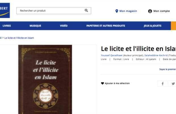 France: « Le licite et l'illicite en Islam », livre antisémite, homophobe et misogyne en vente libre