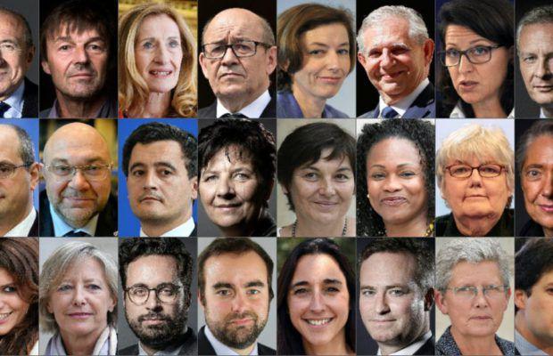 Une douzaine de ministres quasi inconnus des Français