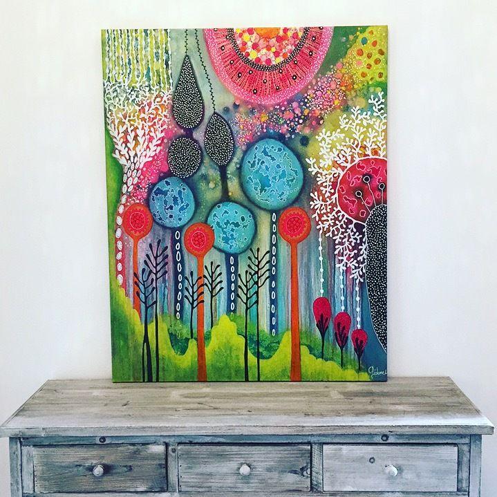 dernière peinture 92x73 cm disponible atelier
