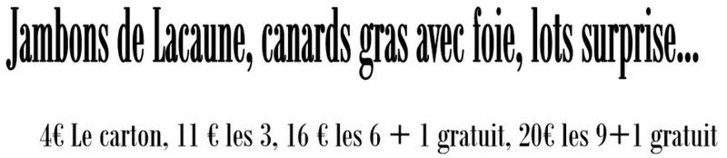 EDUCNAUTE-INFOS organise son LOTO en commun avec l'école de pétanque de buffebiau (31)