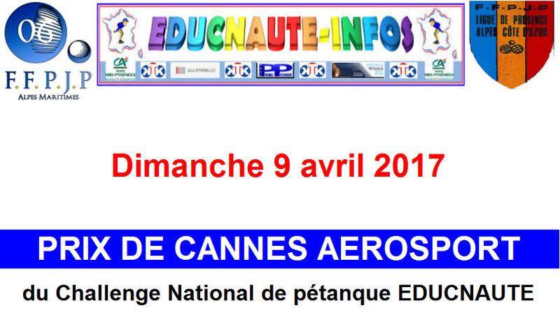Le Concours de CANNES déroule le Tapis rouge pour le Challenge EDUCNAUTE JEUNES