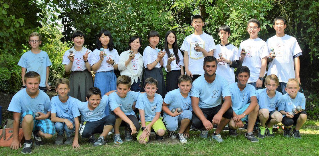 Ecole de Pétanque de la vallée du Loir : Une école de pétanque de bon niveau connue jusqu'au JAPON