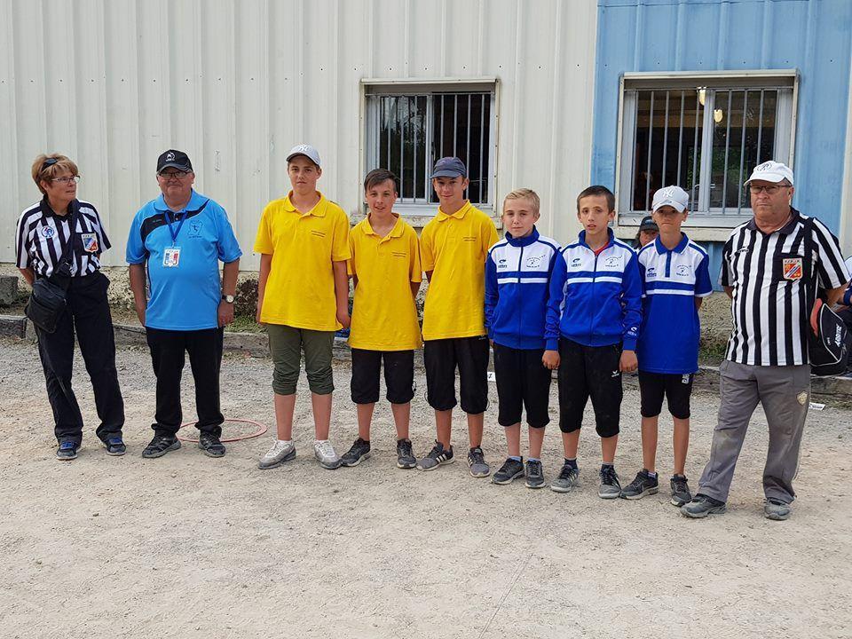 National jeunes de pétanque du Mans 2018, UN TRES BON CRU : plus de 300 joueurs au grand rendez-vous Sarthois.
