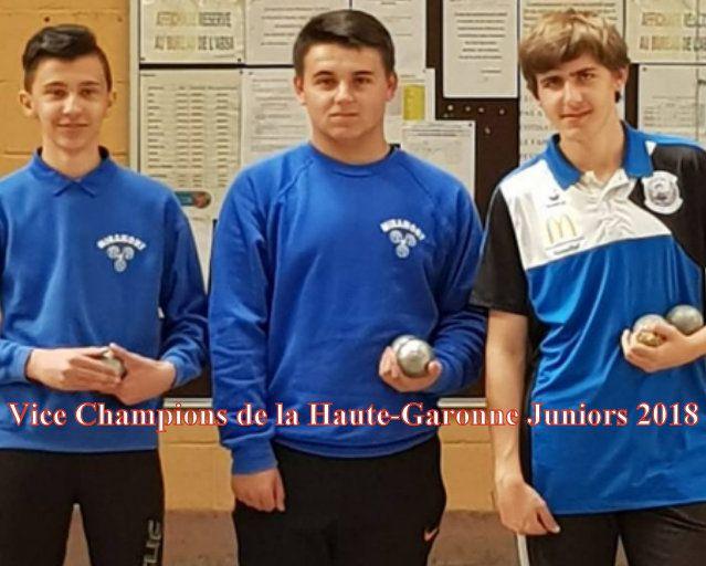 Championnats de France Triplettes Jeunes 2018: Les forces en présence